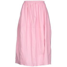 《送料無料》TWINSET レディース 7分丈スカート ピンク M 68% コットン 28% ナイロン 4% ポリウレタン