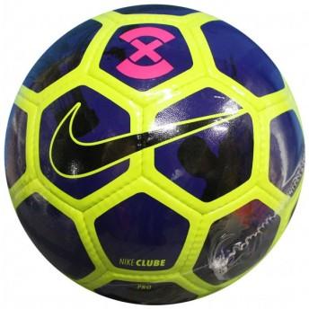 フットボール X クリューブ ボルト×ディープロイヤルブルー 【NIKE|ナイキ】フットサルボール3号球sc3047-702-youth