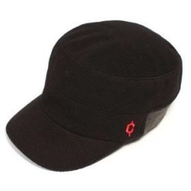 クレ(clef) クレ clef ニット リブ ワークキャップ KNT RIB WORK CAP RB3357 ブラック 帽子 (Men's、Lady's)