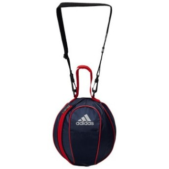 [adidas]アディダス ボールバッグ1個入れ(サッカー用) (AKM20NVR) ネイビー/レッド[取寄商品]