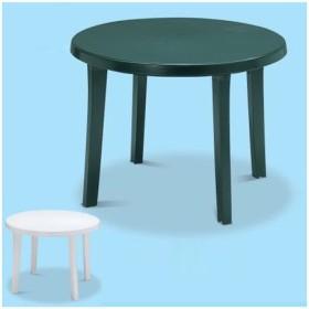 ■在庫限り・入荷なし■ガーデンテーブル 樹脂製 直径98×高さ72cm ( テーブル 机 庭 プール )