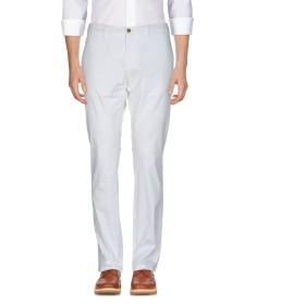 《期間限定セール開催中!》LARDINI メンズ パンツ ホワイト 54 コットン 98% / ポリウレタン 2%