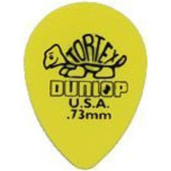 Jim Dunlop / TORTEX Small Tear Drop Pick 423R 0.73mm Yellow 【新宿店】