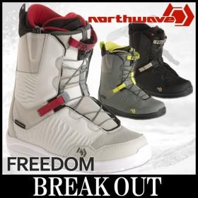 あすつく対応 17-18 NORTHWAVE / ノースウェーブ FREEDOM メンズ ブーツ スノーボード 2018 型落ち