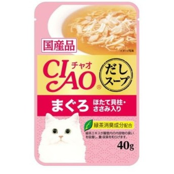 CIAO CIAO だしスープ  まぐろ/40g