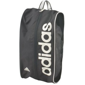リニア PER シューズバッグ ブラック×パールグレーS14 【adidas|アディダス】サッカーフットサルバッグdez41-m67760