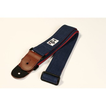 CHUMS / GUITAR STRAP SWEAT NYLON H-NAVY/TOMATO ギターストラップ チャムス(S/N -)(渋谷店)