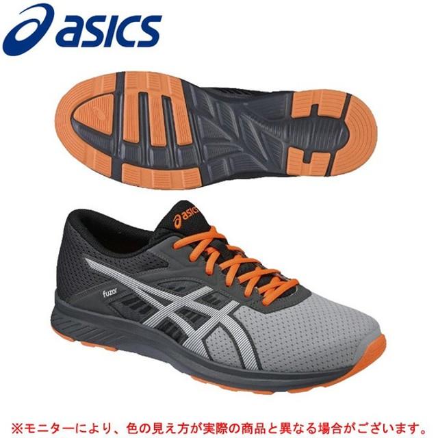 ASICS(アシックス)フューザー(TJA137)ランニングシューズ マラソン ジョギング トレーニング スニーカー メンズ