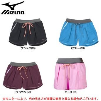 MIZUNO(ミズノ)ランニングパンツ(J2MB5701)スポーツ ジョギング マラソン ショートパンツ レディース