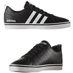 [adidas]アディダス メンズコートシューズ NEOPACE VS アディペースVS (B74494) コアブラック/ランニングホワイト/スカーレット[取寄商品]