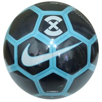 ストライク X オブシディアン×ガンマブルー 【NIKE|ナイキ】サッカーボール5号球sc3093-451-5
