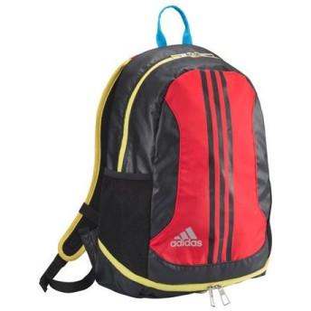 キッズ フットボールバックパック 20L スカーレット×ブラック 【adidas|アディダス】サッカーフットサルバッグkbp83-a97141