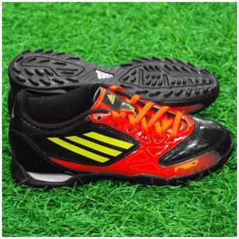 F5 TRX TF J ブラック×エレクトリシティ 【adidas|アディダス】サッカージュニアトレーニングシューズv24832