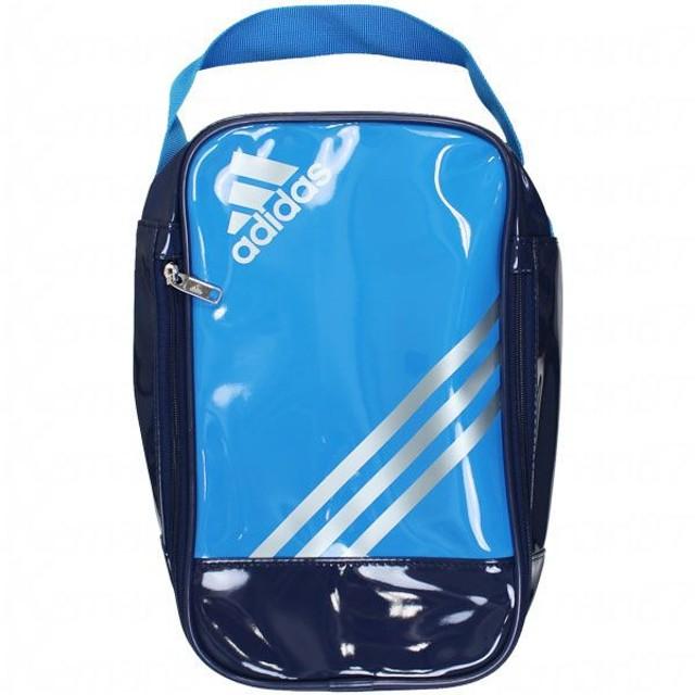 エナメルシューズケース ソーラーブルーS14×テックグレーメットS14 【adidas アディダス】サッカーフットサルバッグddv12-m35469
