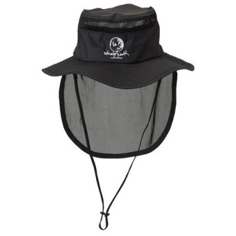 ホールアース(Whole Earth) SUNSHADE HAT WE27FB55 ブラック (Men's)