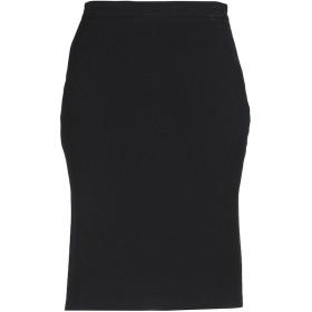 《期間限定セール開催中!》TRICOT CHIC レディース ひざ丈スカート ブラック 40 ポリエステル 63% / レーヨン 33% / ポリウレタン 4%