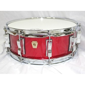 Ludwig / LS401xx27 Red Sparkle Classic Maple 14x5 ラディック クラシックメイプル スネアドラム【SHIBUYA_WEST】