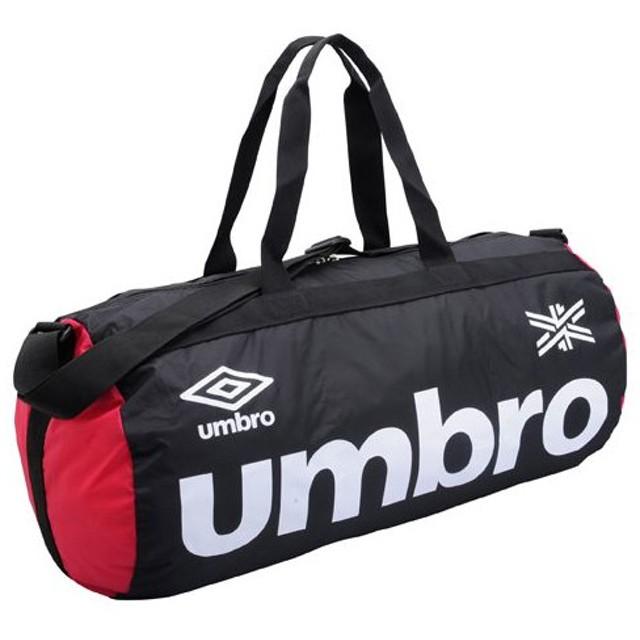 ベーシックドラムバッグ ブラック×マゼンタ 【UMBRO|アンブロ】サッカーフットサルバックujs1542-bkmg