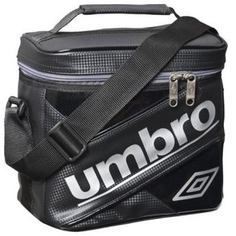 ラバスポクーラーバッグ ブラック×シルバー 【UMBRO|アンブロ】サッカーフットサルアクセサリーujs1422-bsl