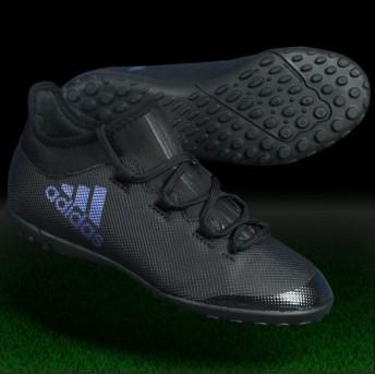 ジュニア エックス タンゴ 17.3 TF J コアブラック×コアブラック 【adidas|アディダス】ジュニアフットサルシューズcg3732