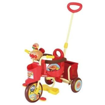 三輪車 おでかけ三輪車 わくわくアンパンマンごう ピース エムアンドエム M&M mimi 乗り物 遊具 トイ おもちゃ 乗用 自転車 連休 里帰り