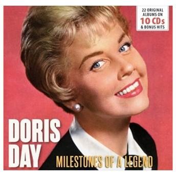 輸入盤 DORIS DAY / MILESTONES OF A LEGEND [10CD]