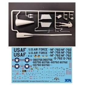 1/48 アメリカ空軍 スペーストレーナー NF-104A 改造キット(H社1/48 F-104J推奨)[モデルアート]《在庫切れ》