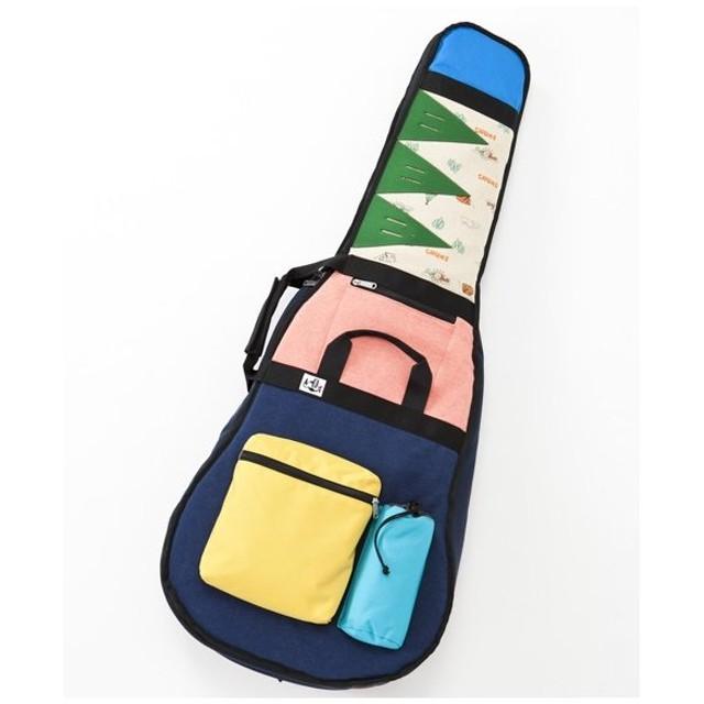 CHUMS / AG-BAG SWEAT NYLON CRAZY 2016SS アコースティックギター用ケース チャムス(在庫入替アウトレット)