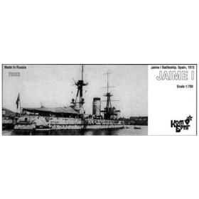 1/700 スペイン戦艦ハイメ1世 Eパーツ付・1913 レジンキット[コンブリック]《在庫切れ》