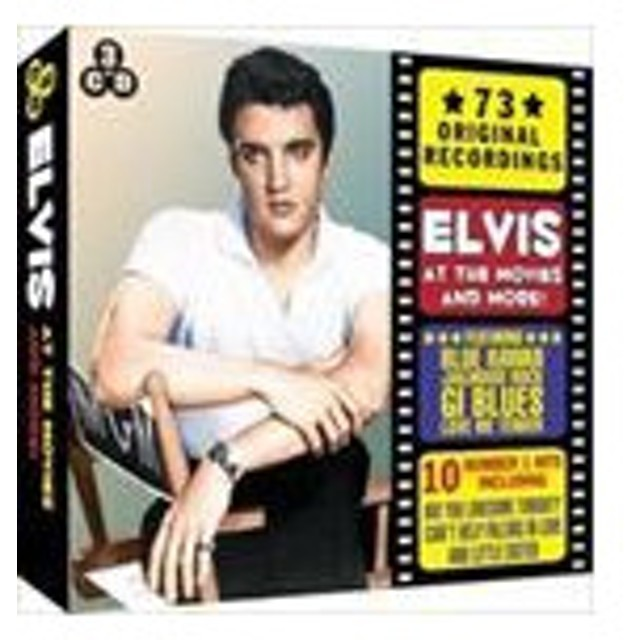 輸入盤 ELVIS PRESLEY / ELVIS AT THE MOVIES AND MORE [3CD]
