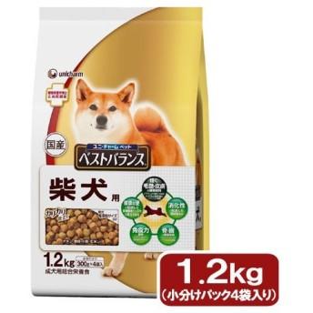 ベストバランス カリカリ仕立て 柴犬用 1.2kg(300g×4袋)