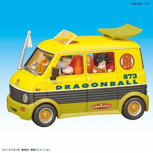 メカコレクション ドラゴンボール 7巻 亀仙人のワゴン車 プラモデル 『ドラゴンボールZ』より[バンダイ]《発売済・在庫品》