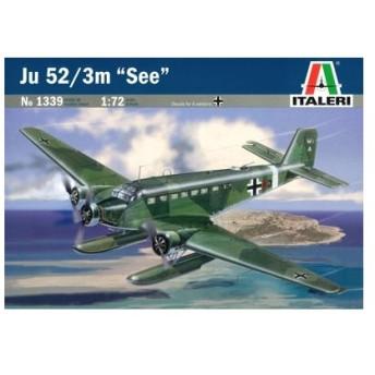 1/72 ユンカース Ju52/3m シー プラモデル[イタレリ]《在庫切れ》