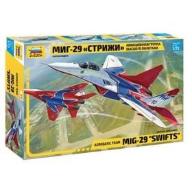 """1/72 MiG-29 """"Swifts"""" プラモデル[ズベズダ]《在庫切れ》"""