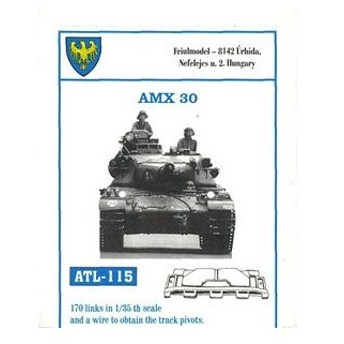 1/35スケール 金属製可動履帯シリーズ AMX-30(再販)[フリウルモデル]《在庫切れ》