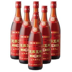 6%OFFクーポン 中国 お土産 ギフト 越国王牌 陳年紹興酒 6本 酒 ID:80654688