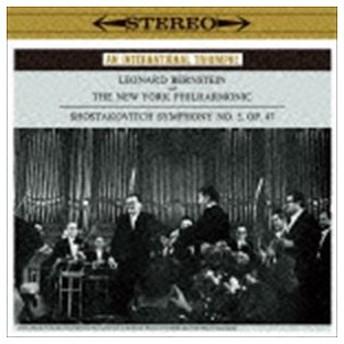 レナード・バーンスタイン(cond) / ショスタコーヴィチ:交響曲第5番 プロコフィエフ:古典交響曲(期間生産限定盤) [CD]