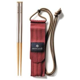 スノーピーク snowpeak SCT-110 和武器 M/アウトドア キャンプ カトラリー 箸