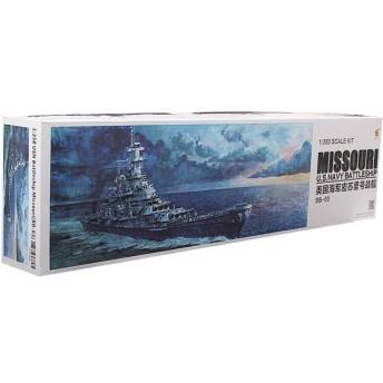 1/350 米海軍 戦艦 ミズーリ (BB-63) イージーバージョン プラモデル[Very Fire]《在庫切れ》