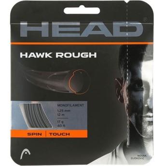 【お試し12Mカット品】ヘッド(Head) ホーク ラフ(1.25mm) 硬式テニスガット ポリエステルガット【2017年6月登録】
