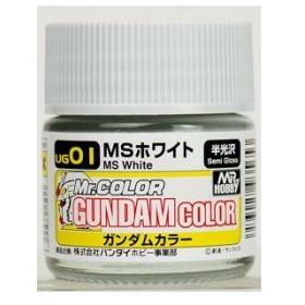 ガンダムカラー UG01 MSホワイト[GSIクレオス]《発売済・在庫品》
