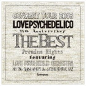 LOVE PSYCHEDELICO / LOVE PSYCHEDELICO 15th ANNIVERSARY TOUR -THE BEST- LIVE(通常盤) [CD]