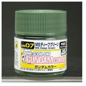 ガンダムカラー UG07 MSディープグリーン[GSIクレオス]《発売済・在庫品》