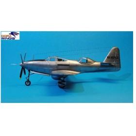 1/48 ベル TP-63E キングコブラ 複座練習機型 プラモデル[DORA WINGS]《在庫切れ》