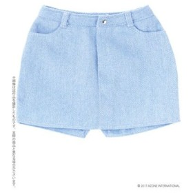 48cm/50cm用 AZO2タイトスカート ライトブルー (ドール用)[アゾン]《在庫切れ》