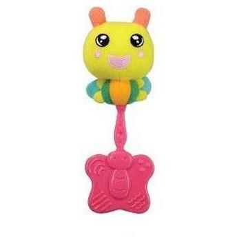 ノンキャラ良品 2ヶ月から持てる 32gのかみかみガラガラ ピープル People おもちゃ toys ギフト ガラガラ 歯固め ラトル プレゼント 安心 安全 知育玩具 baby