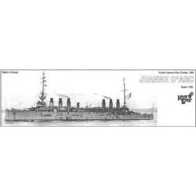 1/700 仏装甲巡洋艦ジャンヌ・ダルク Eパーツ付・1902 レジンキット[コンブリック]《取り寄せ※暫定》