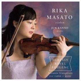 パリのヴァイオリン・ソナタ集 ドビュッシー・ラヴェル・プーランク / 正戸里佳 (CD)