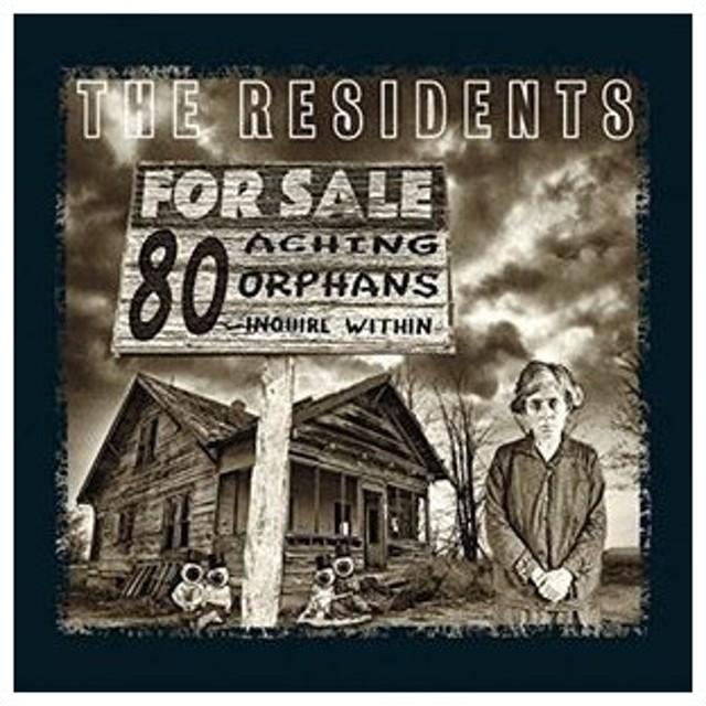輸入盤 RESIDENTS / 80 ACHING ORPHANS : 45 YEARS OF THE RESIDENTS HARDBACK BOOK [4CD]