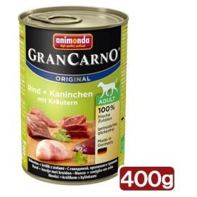 アニモンダ ドッグ グランカルノ ミックス 牛肉・ウサギ・パセリ 400g 正規品 お一人様4点限り